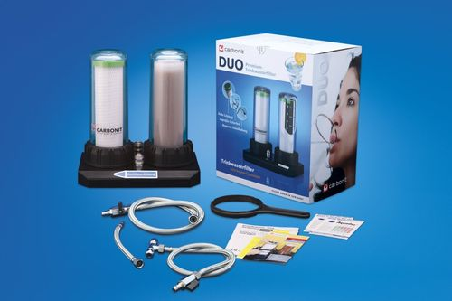 Carbonit Duo-HP Kalk Wasserfilter